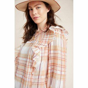 Anthropologie Current Air Polly Blouse